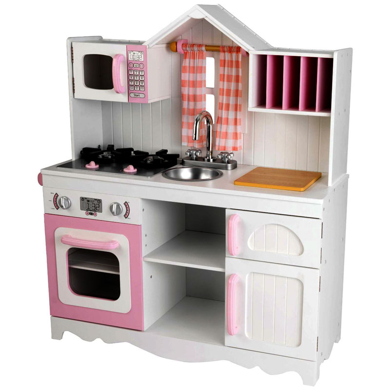 KidKraft Modern Wooden Country Kitchen Set Video Review