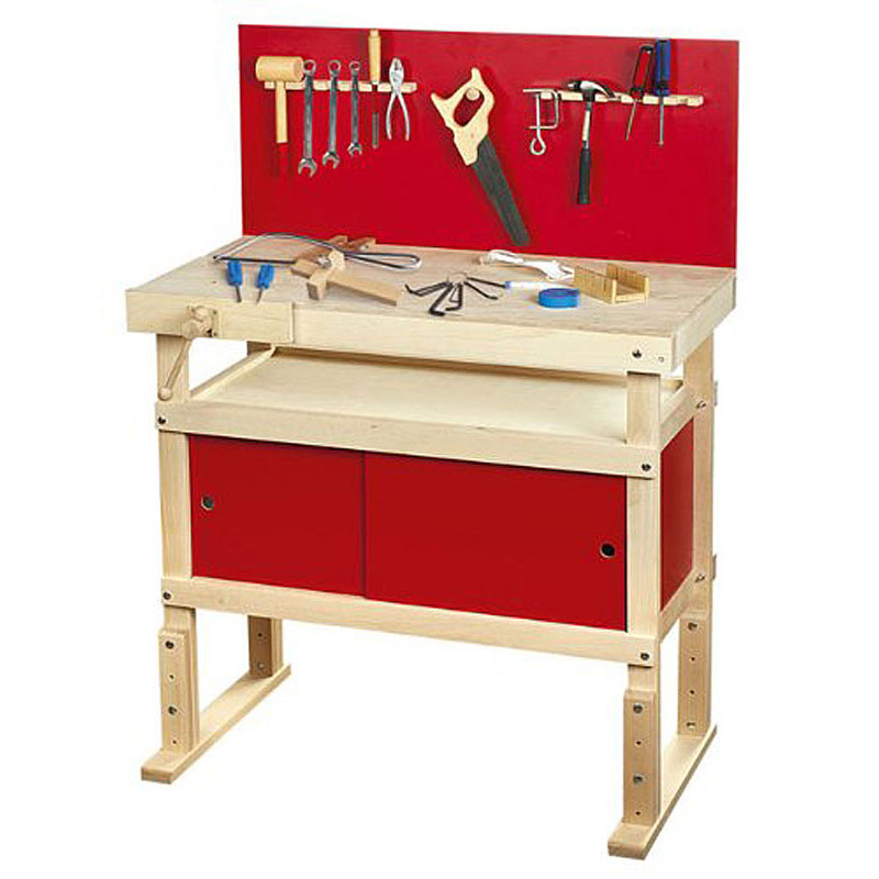 Leomark Wooden Workbench with tools Review